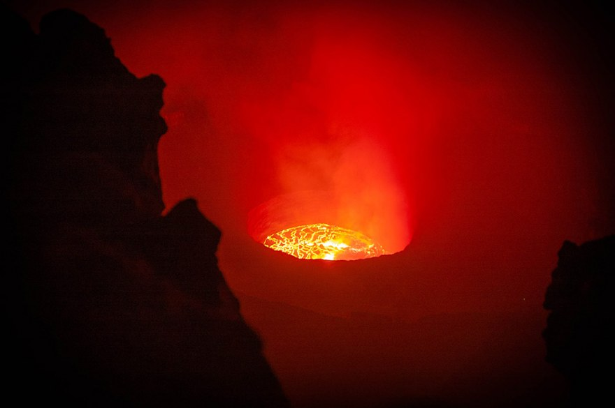 Mount Nyiragongo, Virunga National Park
