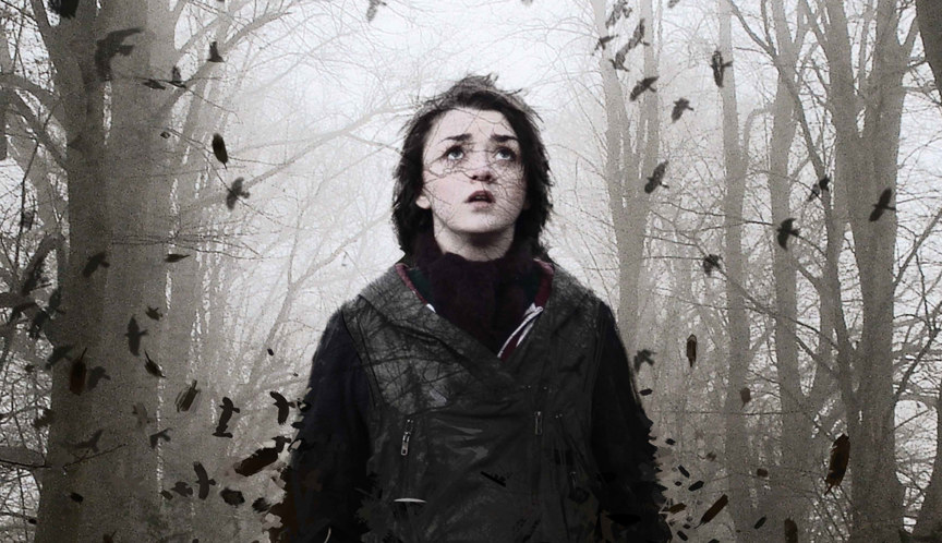 corvidae maisie williams